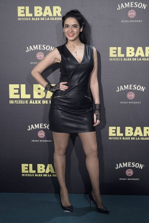 Veronica Perona attends the El Bar premiere