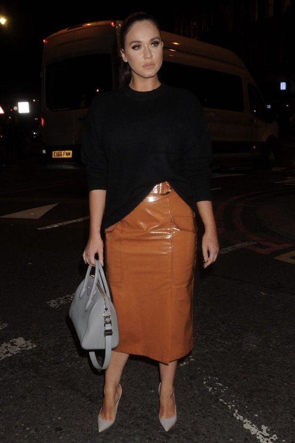 Vicky Pattison attends Exempt London Fashion Week Party