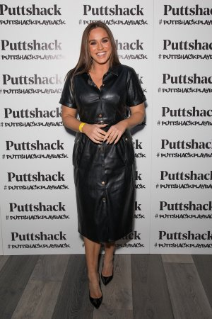 Vicky Pattison attends the launch of Puttshack