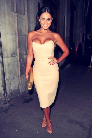 Vicky Pattison enjoy an evening at Steam & Rye