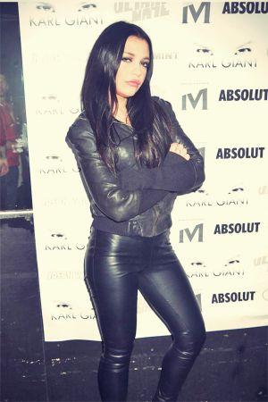 Victoria Doroshenko seen attending Karl Giant's Birthday Celebration