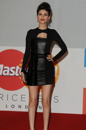 Victoria Justice at 2012 BRIT Awards in London