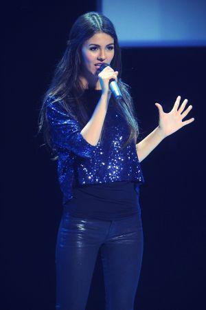 Victoria Justice at Nickelodeon Upfront Presentation