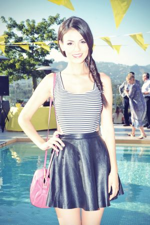 Victoria Justice attends Kate Spade Saturday Summer Solstice Party