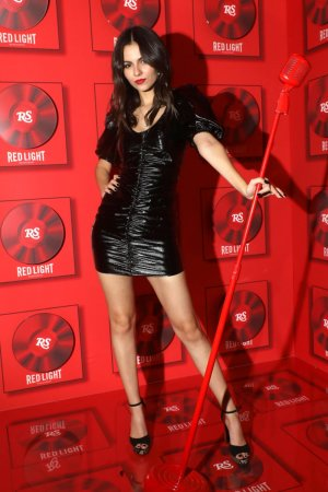 Victoria Justice attends Red Light Management Grammy After Party