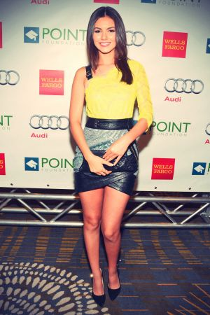 Victoria Justice attends Voices On Point Gala Benefit
