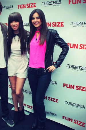 Victoria Justice Fun Size screening Mall of America Bloomington