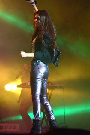 Victoria Justice performing at Allegan State Fair