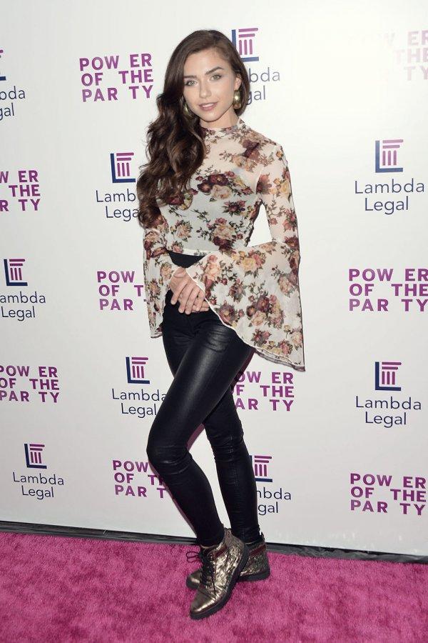 Victoria Konefal attends Lambda Legal's West Coast Liberty Awards
