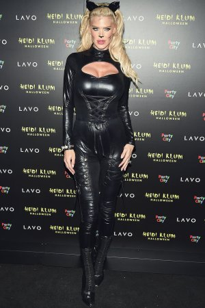 Victoria Silvstedt attends Heidi Klum's 19th Annual Halloween Party