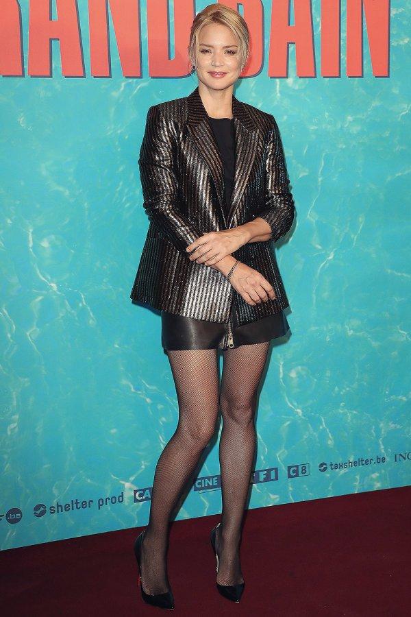 Virginie Efira attends Le grand Bain film premiere