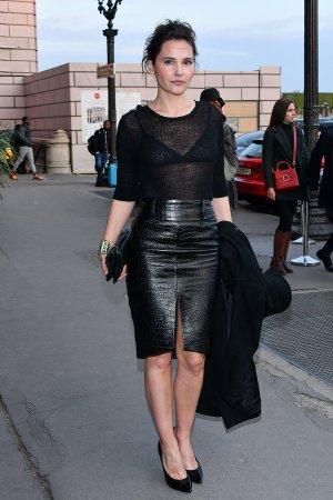 Virginie Ledoyen outside Diner de Cinema - Madame Figaro event