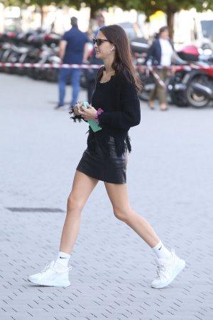 Vittoria Ceretti attends Milan Fashion Week