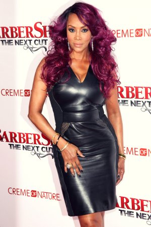 Vivica A. Fox attends the premiere of Barbershop The Next Cut