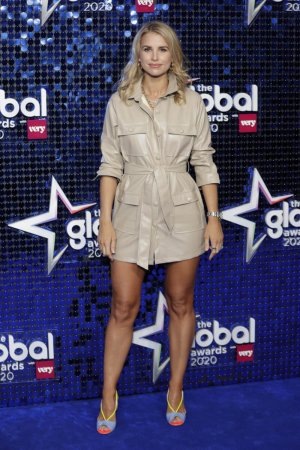 Vogue Williams attends The Global Awards