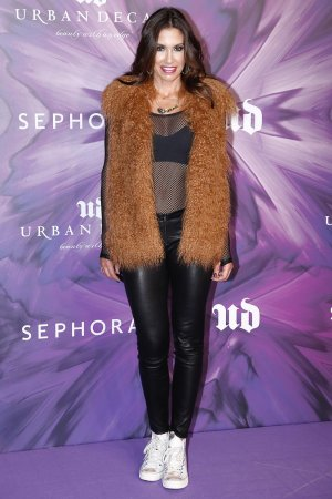 Wende Zomnir attends the Urban Decay 20th anniversary photocall
