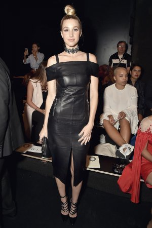 Whitney Port attends the Lanyu fashion show
