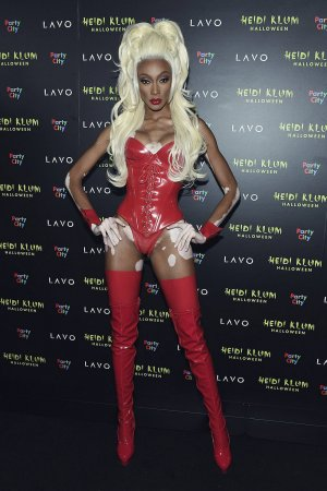 Winnie Harlow attends Heidi Klum's 19th Annual Halloween Party