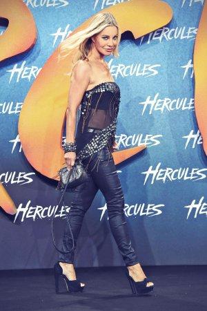 Xenia Seeberg at the European premiere of Hercules
