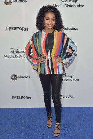 Yara Shahidi at the 2017 ABC-Disney Media Distribution International Upfront
