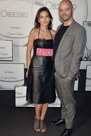 Yasmin Mills celebrate the launch of the New OBSESSED Calvin Klein Fragrance