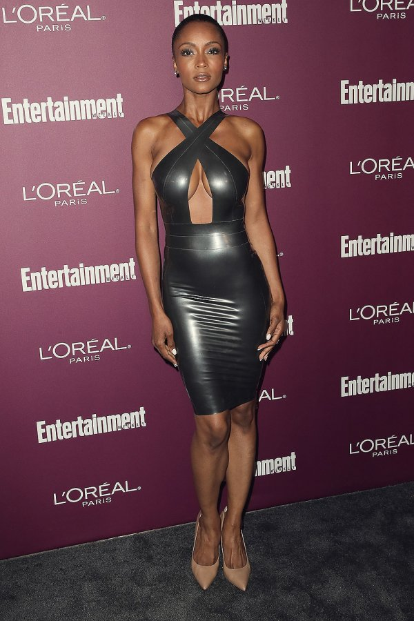 Yaya DaCosta attends Entertainment Weekly Pre-Emmy Party