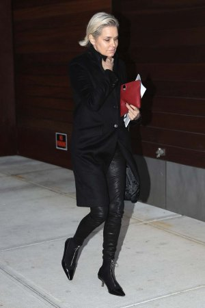 Yolanda Hadid is spotted out and about in NYC