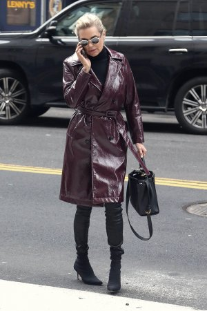 Yolanda Hadid out and about in New York