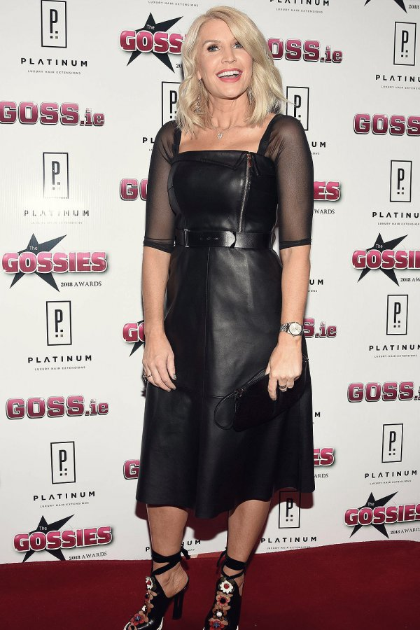 Yvonne Connolly attends The Gossies 2018 Awards