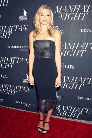 Yvonne Strahovski attends Manhattan Night Screening