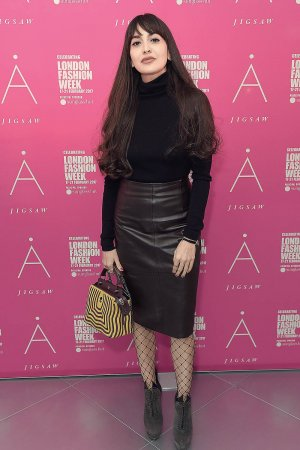 Zara Martin attends the Jigsaw London Fashion Week show