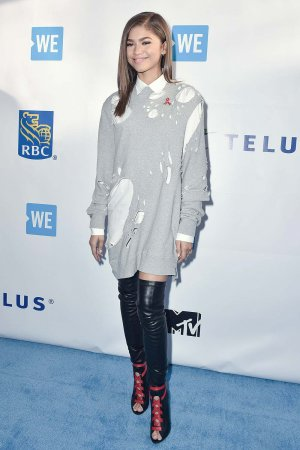 Zendaya attends We Day Toronto