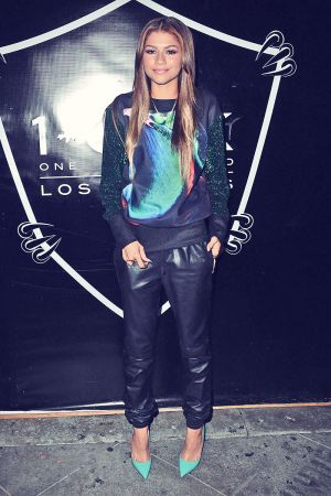 Zendaya Coleman at Christian Combs Sixteenth Birthday Party