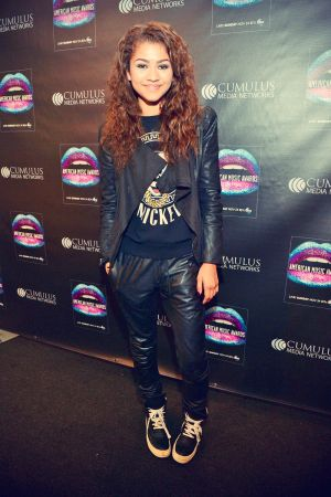 Zendaya Coleman attends 2013 American Music Awards Radio Room