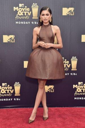 Zendaya Coleman attends MTV awards
