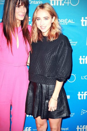 Zoe Kazan attends the Our Brand Is Crisis press conference