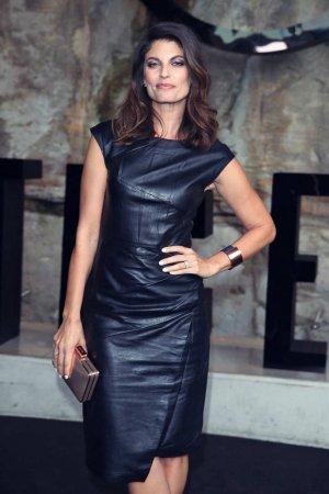Zoe Ventoura attends the Mercedes-Benz Presents Maticevski show