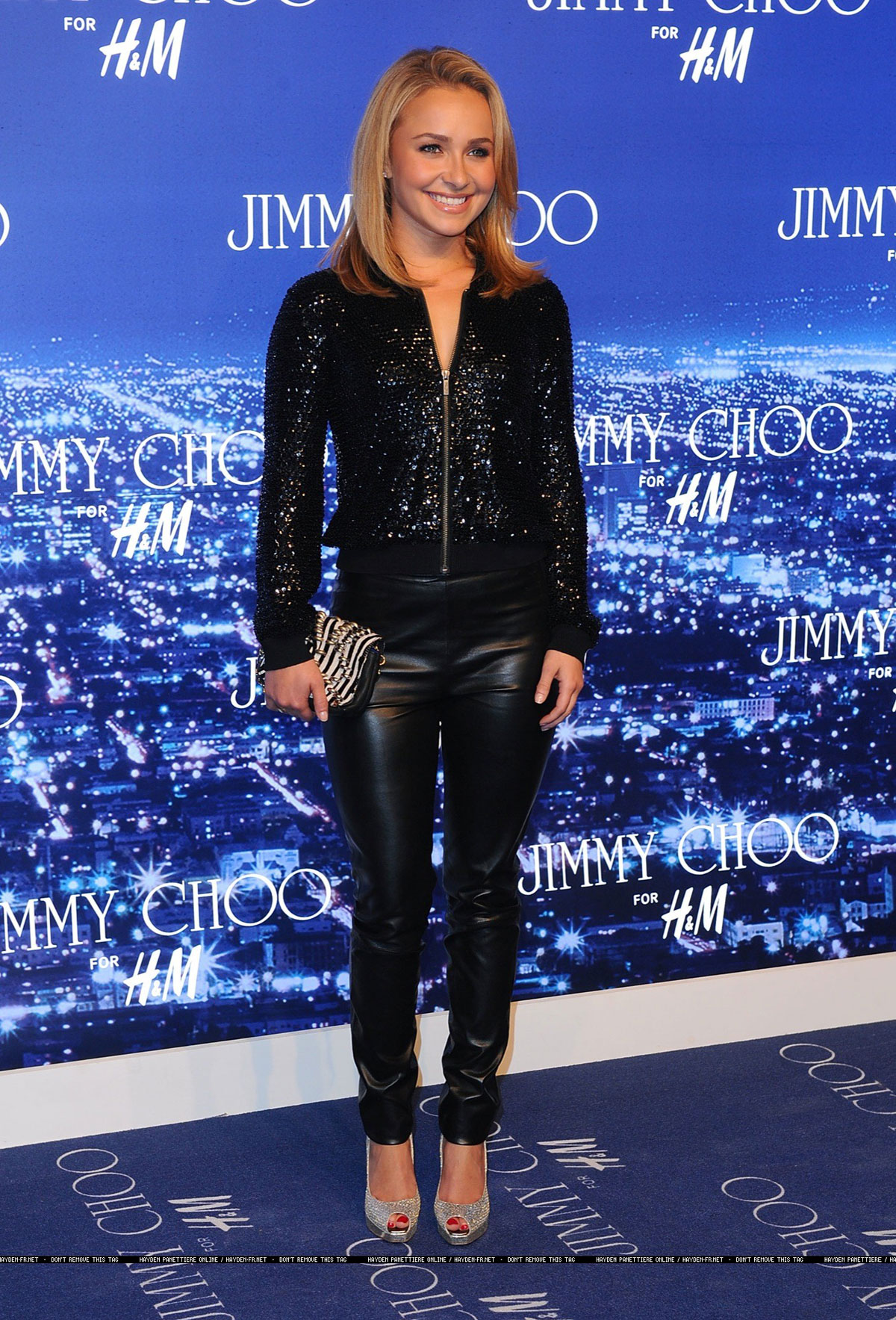 Hayden Panettiere at the Jimmy Choo For H&M Party