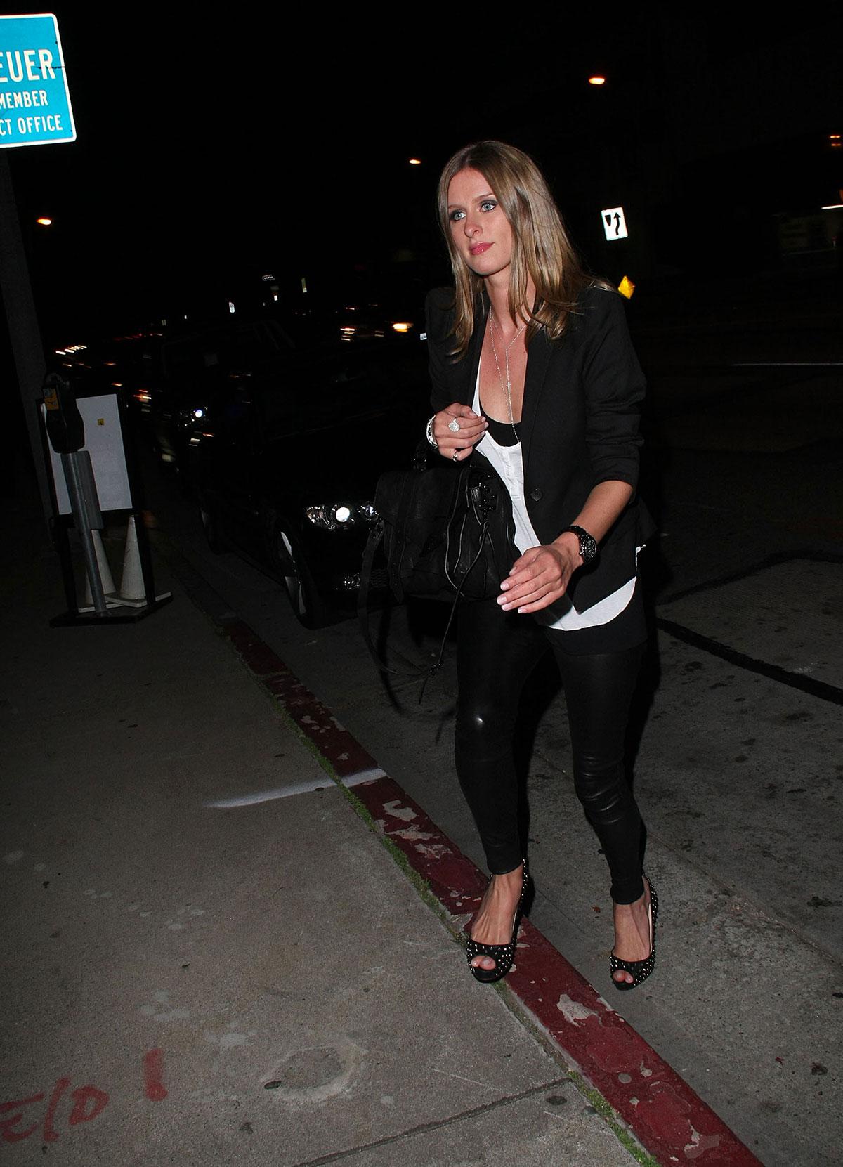 Nicky Hilton At BOA Steakhouse
