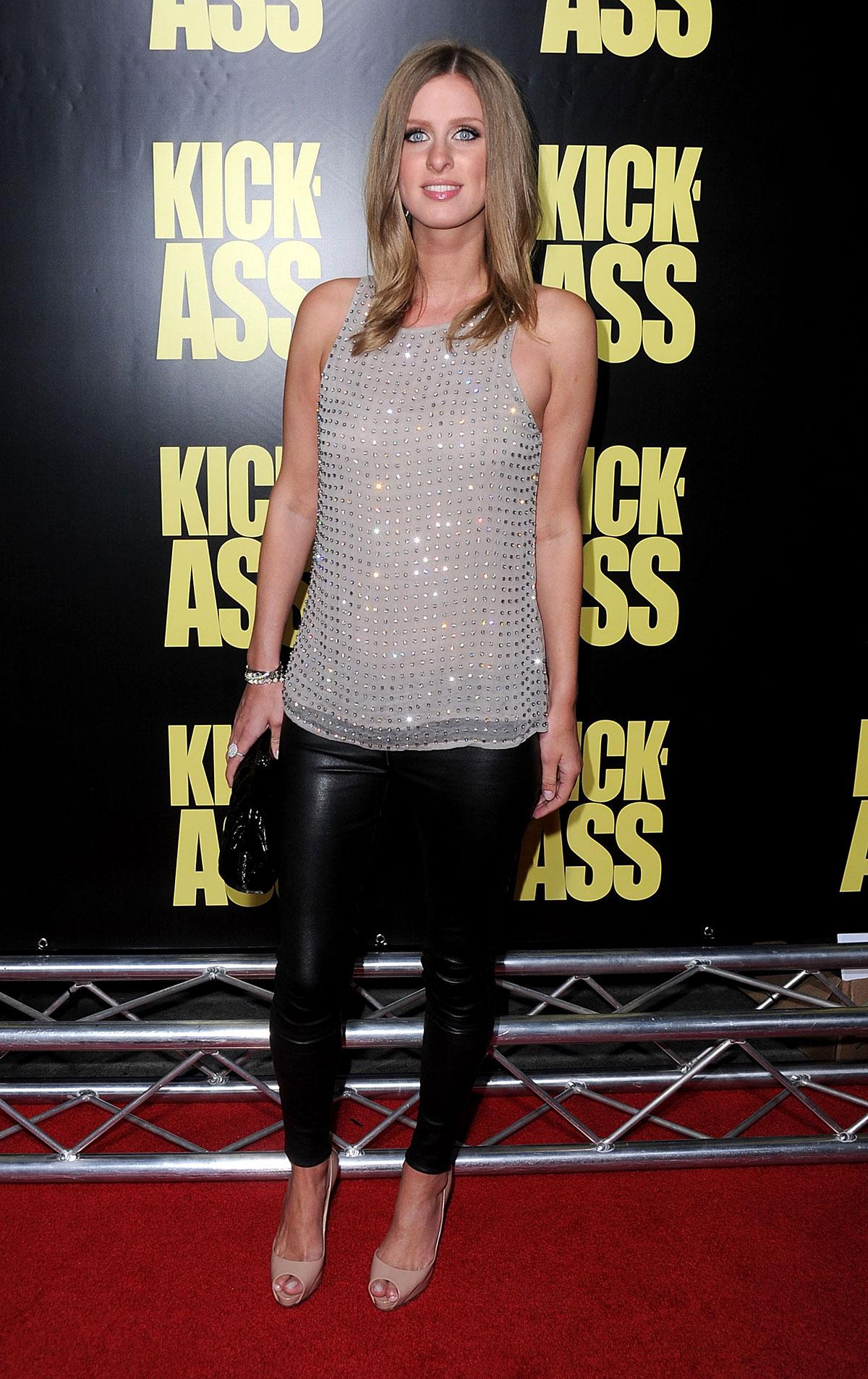 Nicky Hilton arrives at the Kick-Ass LA Premiere