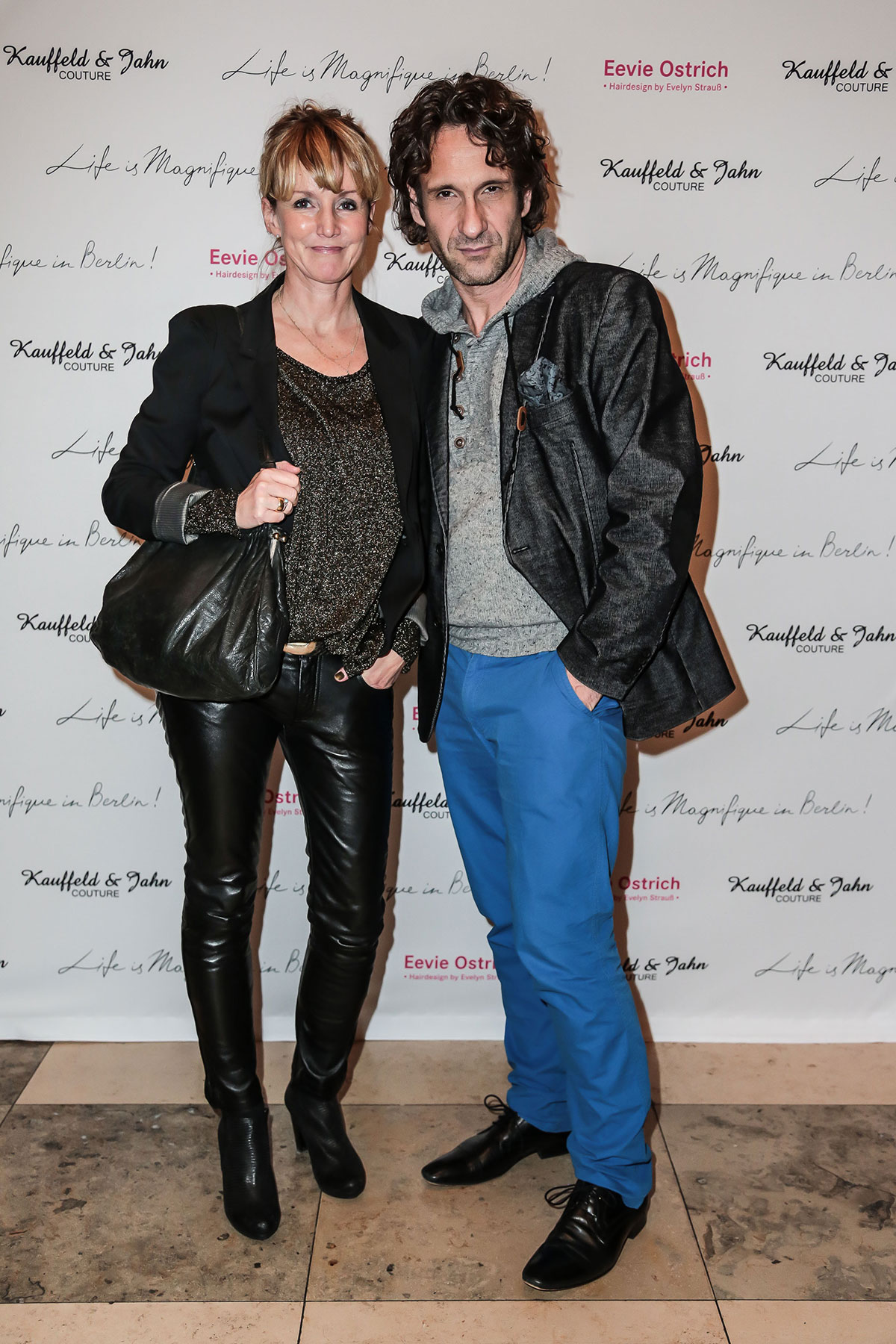 German celebs attend Kauffeld & Jahn Couture Berlin Fashion Week