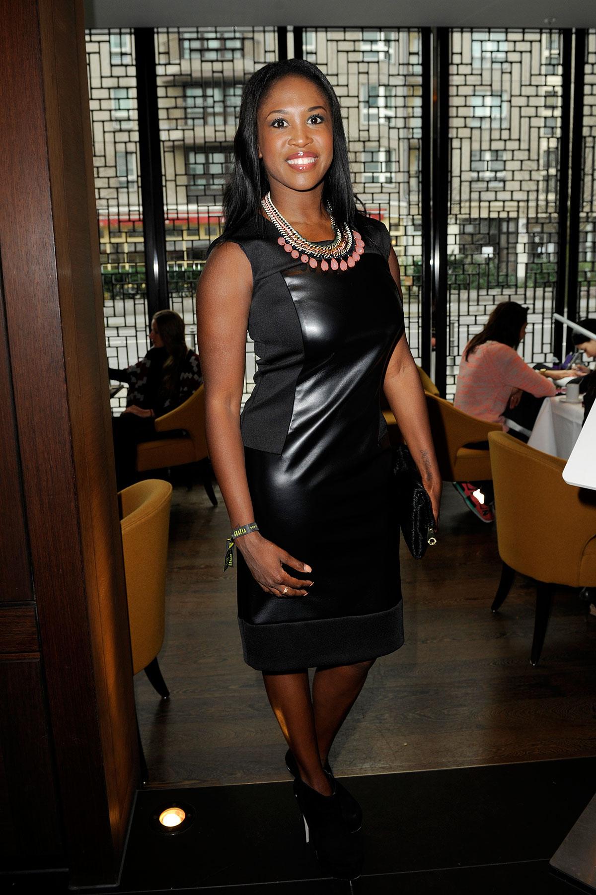 Motsi Mabuse attends Mercedes-Benz Fashion Week