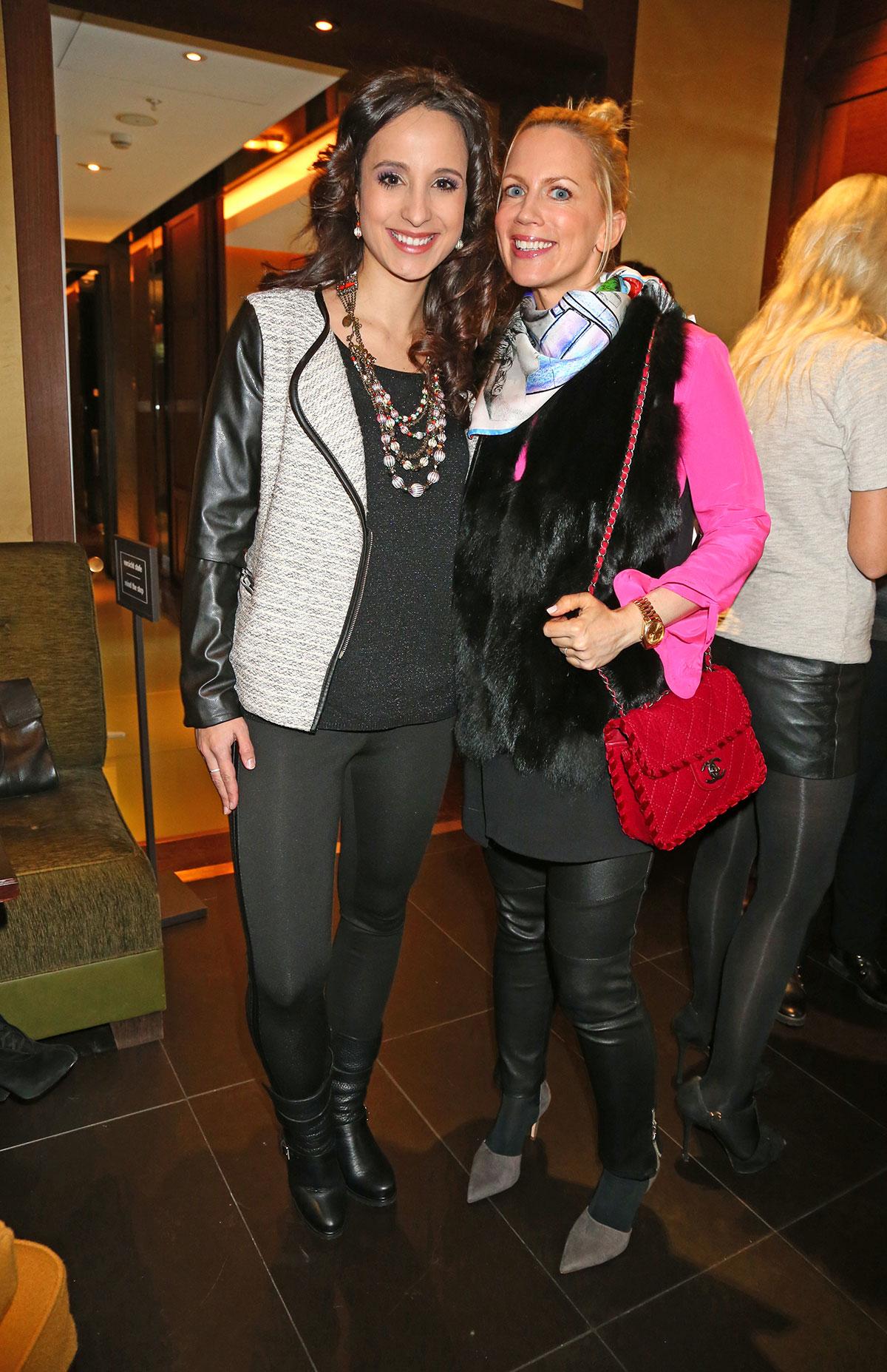 Tamara Graefin von Nayhauss-Cormons attends Mercedes-Benz Fashion Week