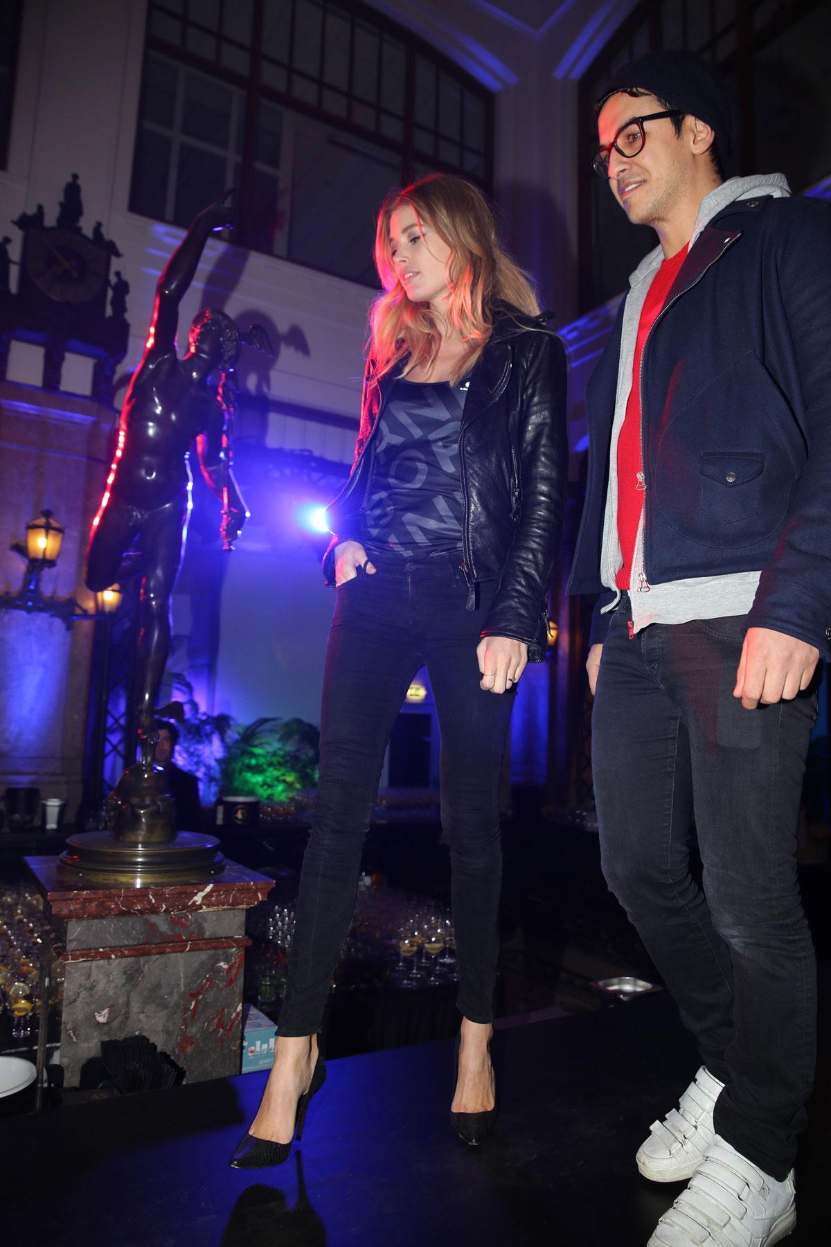 Doutzen Kroes attends Bjorn Borg fashion show