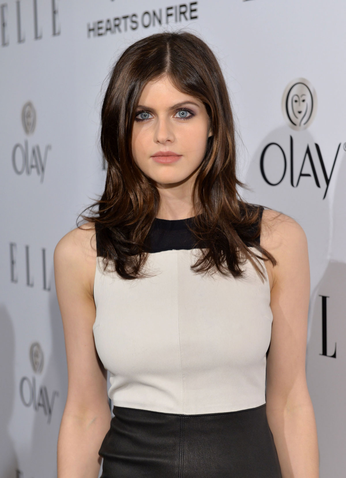 Alexandra Daddario attends ELLE's Women in Television Celebration
