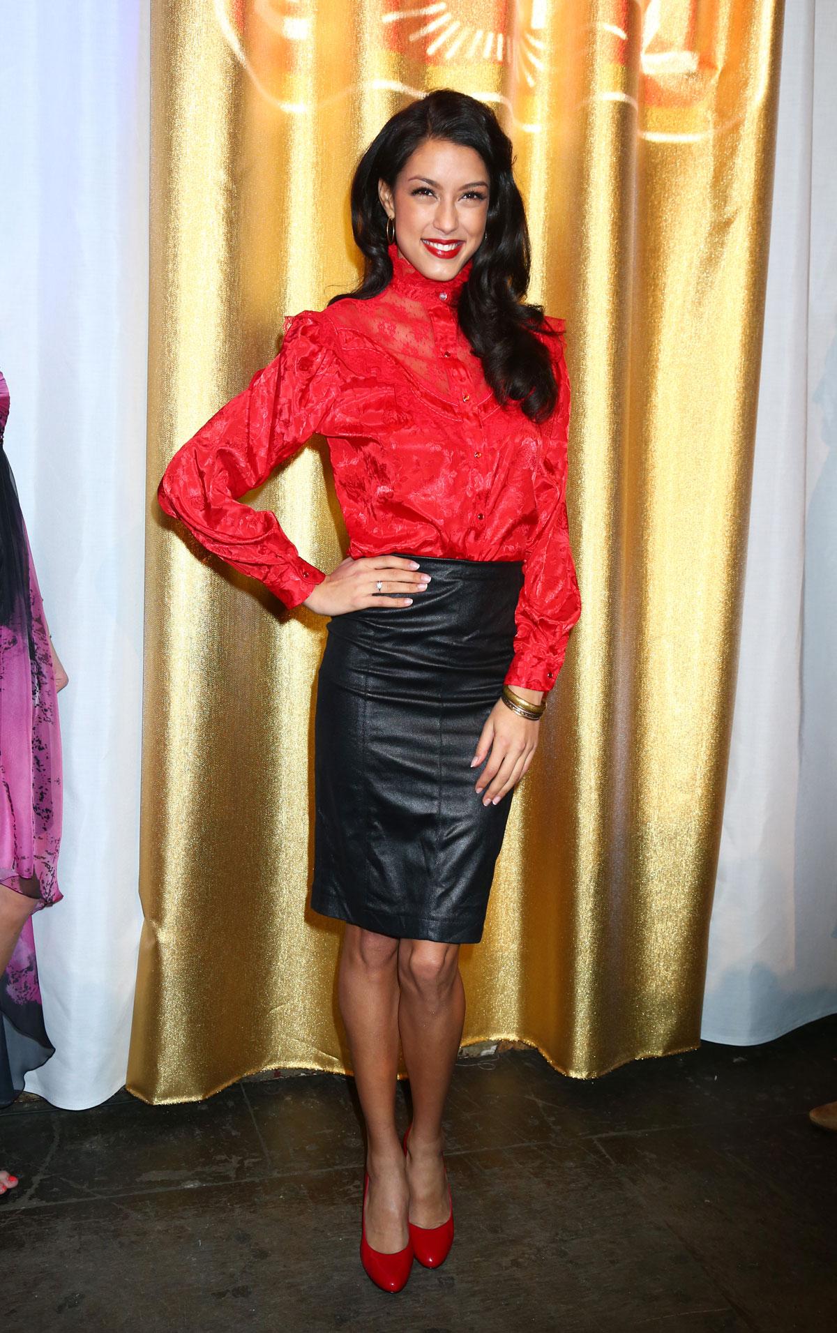 Rebecca Mir attends the Lambertz Monday Night