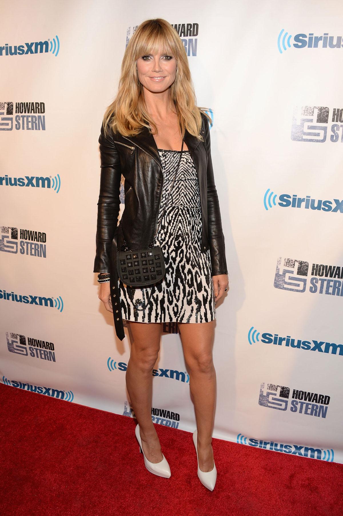 Heidi Klum at Howard Stern's birthday bash presented by SiriusXM