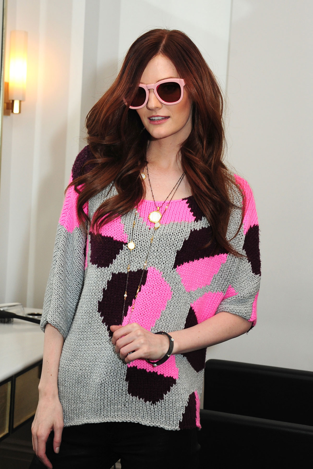 Lydia Hearst attends Lia Sophia DreamDry Celebrate