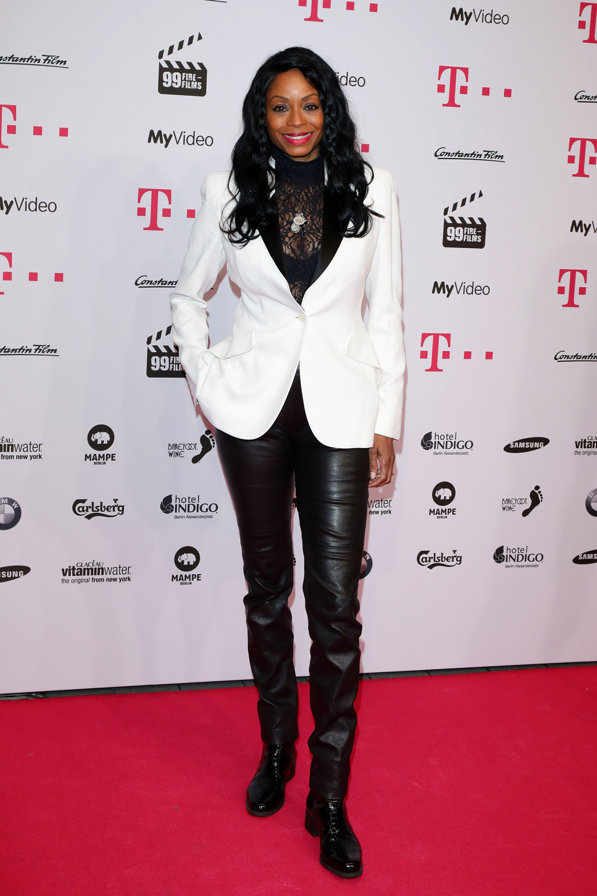 Rosalind Baffoe attends 99Fire Films Award Berlinale