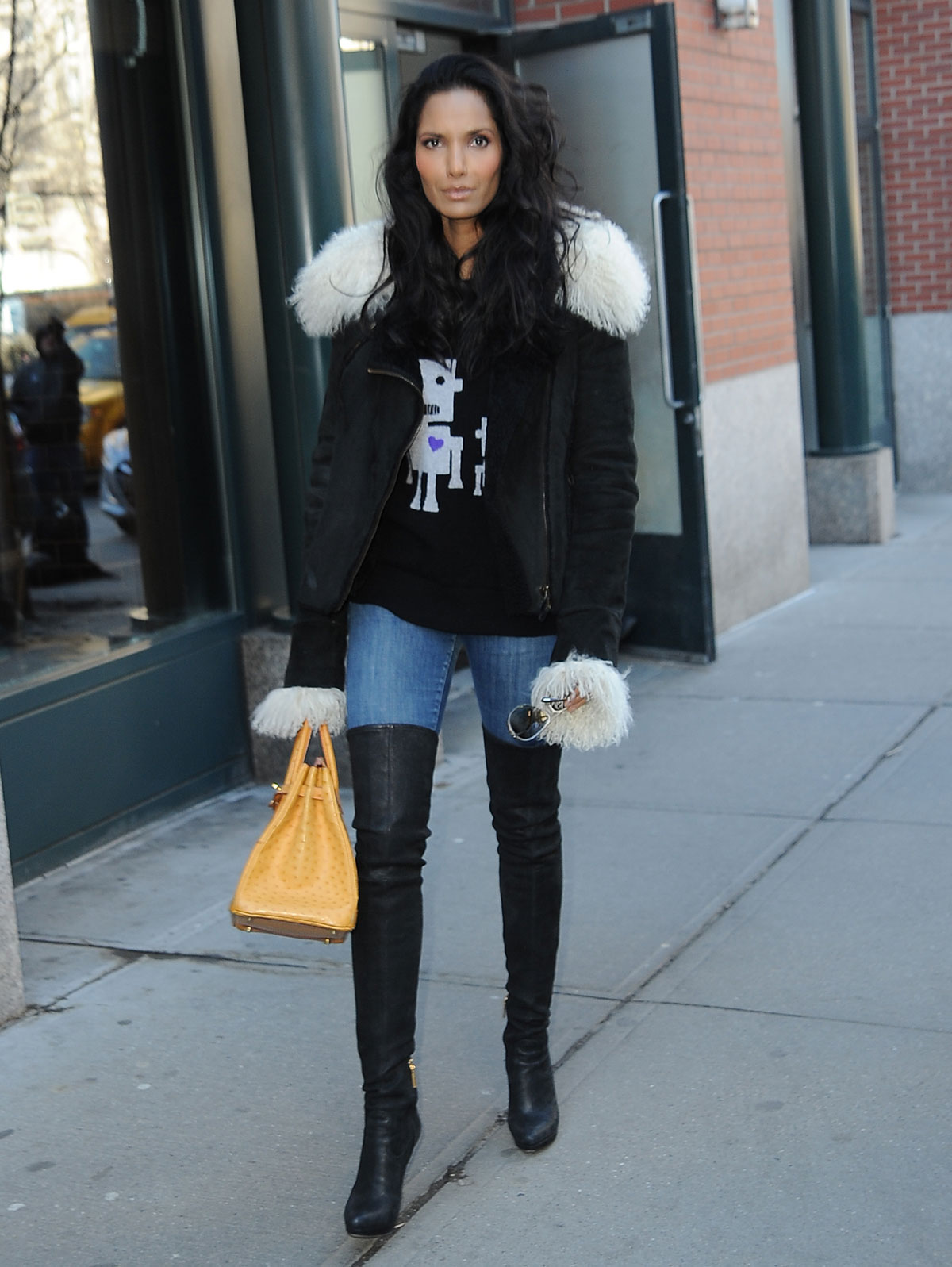 Padma Lakshmi out and about in New York